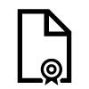 Icon eines Dokuments.