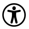 Piktogramm eines Männchens in einem Kreis.