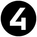 """Icon mit der Zahl """"4""""."""
