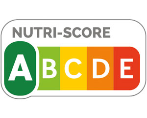 "Nutriscore, das dunkelgrüne ""A"" ist hervorgehoben."
