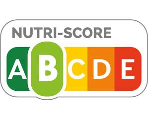 """Nutriscore, das hellgrüne """"B"""" ist hervorgehoben."""